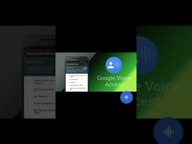 How to control your phone by voice || Google voice access