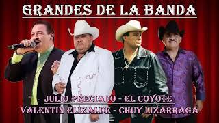 Julio Preciado, El Coyote, Valentin Elizalde, Chuy Lizarraga Mix Para Pistear