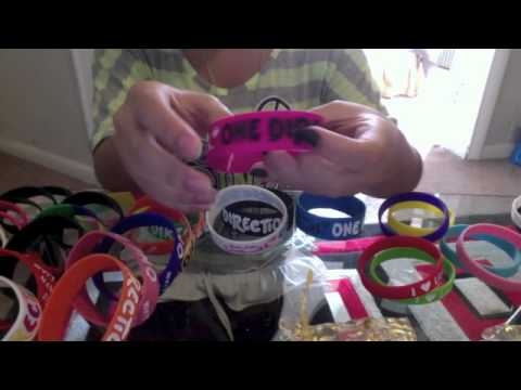 my one direction bracelets