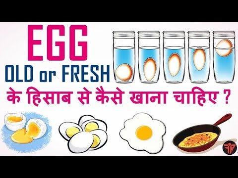 How to check if eggs are good or not