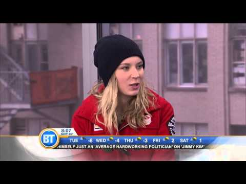 Canadian gold medalist Dara Howell on her Olympic win