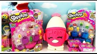 GIANT SHOPKINS Play Doh Surprise Egg Limited Edition Hunt Season 2 12 Packs Blind Baskets