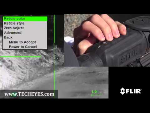 FLIR ThermoSight® R-Series Thermal Scope Video-Review by www.TECHEYES.com