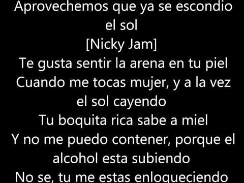Farruco '' Sunset'' FT shaggy and Nicky Jam letra