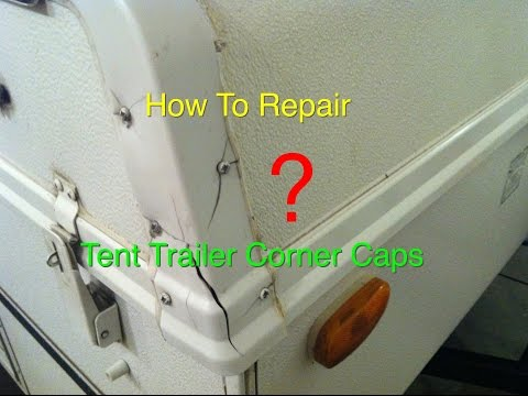 How To Repair Popup Tent Trailer Roof Caps Rock wood Flagstaff