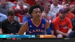 Kansas vs Syracuse Men\'s Basketball Highlights