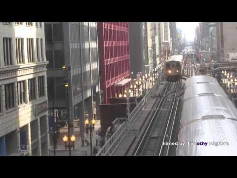 The Chicago Loop El Train.