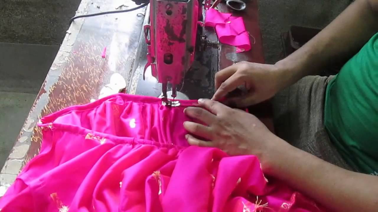 bd4c9640fd nighty cutting and stitching tutorial part 4 of 4  stitching - YouTube