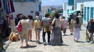Сиди Бу Саид - город влюбленных и ревнивцев (Тунис)(, 2012-06-01T20:22:30.000Z)