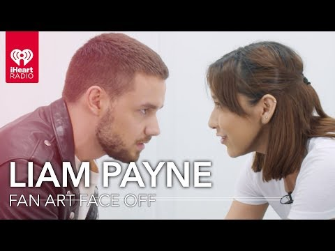 Liam Payne Draws  Art Of One Of His !   Art Face Off
