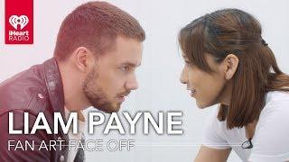 Liam Payne Draws Fan Art Of One Of His Fans! | Fan Art Face Off