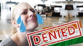 Video HUGE TRAVEL MISTAKE! We can't Go to INDIA!! download MP3, 3GP, MP4, WEBM, AVI, FLV Juli 2018