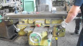 видео Фрезерный станок ОФ-55 технические характеристики и паспорт
