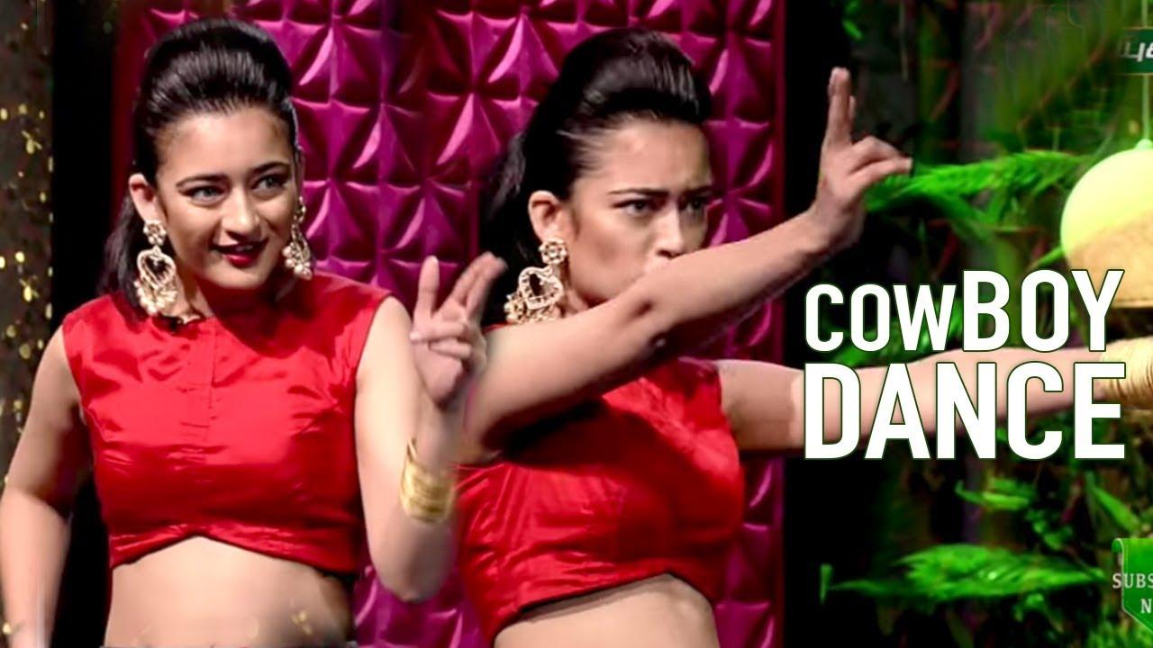 cowboy dance by akshara haasan natchathira ja with loop