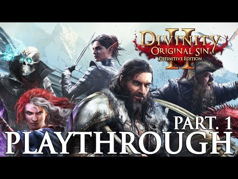 Divinity Original Sin 2 Definitive Edition Playthrough Part 1 Tactician