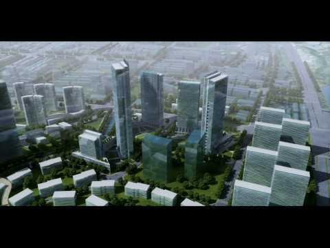 3D Architectural Animation Urban Planning / Masterplan