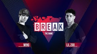 BREAK THE GAME | Wing vs. Lil Zoo