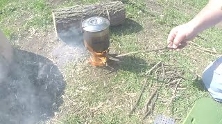 Bushbox Wood Burning Stove Review and Boil Test