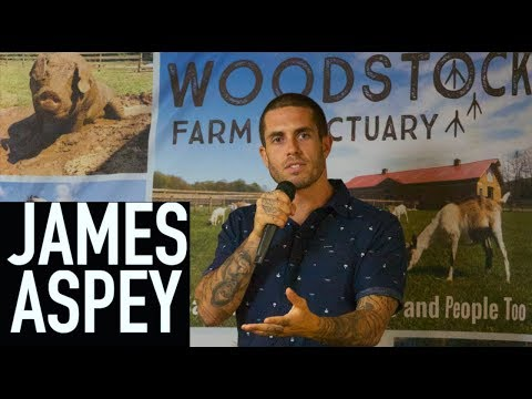 James Aspey Full Speech at Woodstock Farm Sanctuary