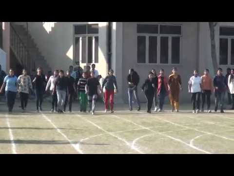 SPOON AND POTATO RACE (GIRLS )-ANNUAL SPORTS MEET (2018)-D A V COLLEGE AMRITSAR