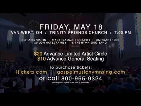 Gospel Music Hymn Sing | Van Wert, OH | May 18th