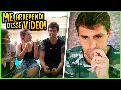 ME ARREPENDI DE GRAVAR ESSE VÍDEO!! [ REZENDE EVIL ]