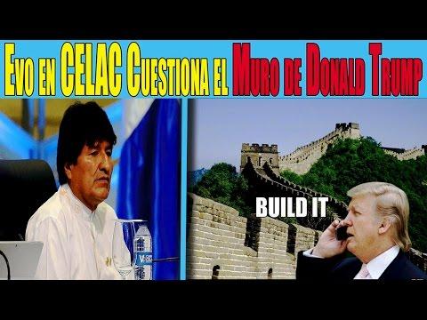 Evo Morales Arremete Contra Trump y su Política Anti-Inmigración