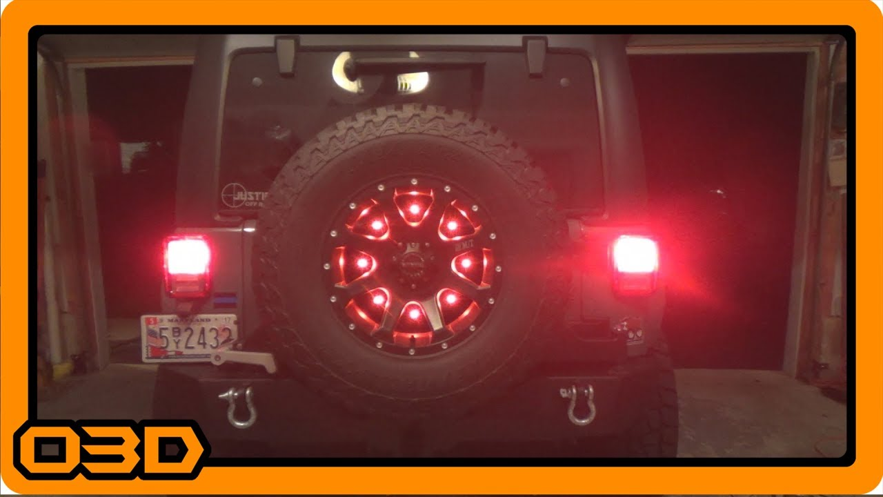small resolution of cpo led third brake light how to