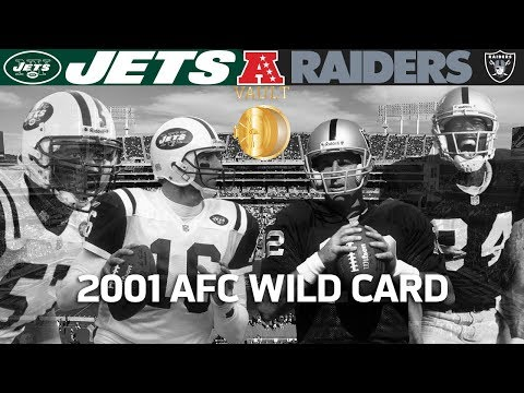 Gruden's Last Playoff Win With Raiders! (Jets vs. Raiders, 2001 AFC Wild Card) | Vault Highlights