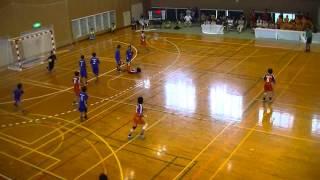 佼成学園女子×高松商業5 平成25年度高校総体ハンドボール