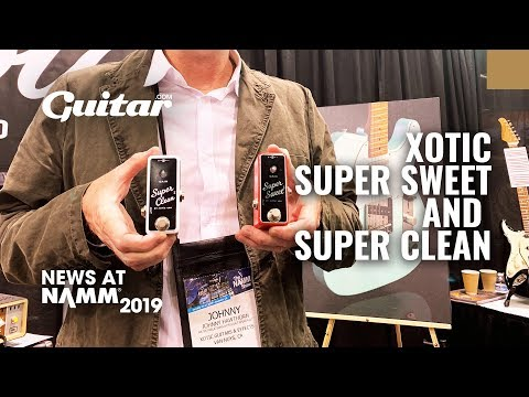 First Look: Xotic's new buffer and boost pedals #NAMM2019