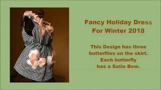 Fancy Holiday Dog Dress for Winter 2018 Part 3 Dog Clothes I Dog Clothing