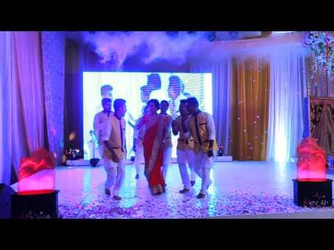 Holud Dance Performance Part 1 (Bride's Side)