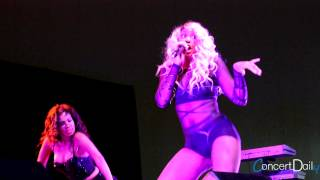 Tamar Braxton performing