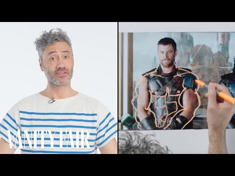 Thor: Ragnarok's Director Breaks Down a Fight   Notes on a   Vanity Fair