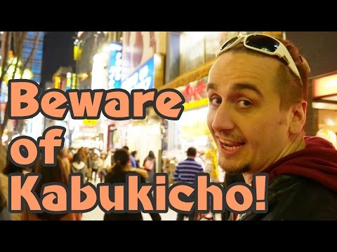 Most Shady Place in Japan: Kabukicho, Shinjuku | Tokyo's Red Light District