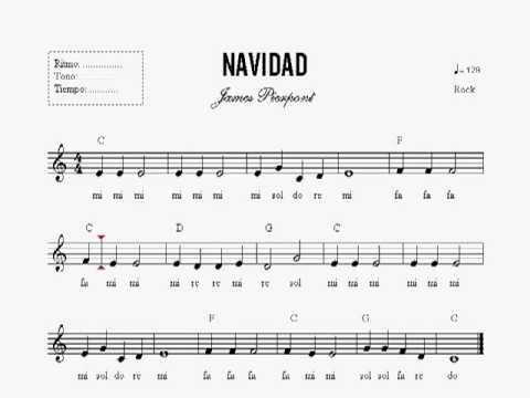 leccion 19 partitura navidad curso de piano en dvd
