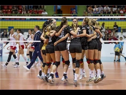 Germany vs China (Semifinals/Bán kết) - Montreux Volley Masters 2014