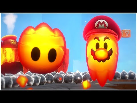 Super Mario Odyssey - Secret Final Level With Invisible Mario (Darker Side)