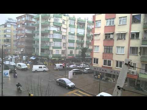 Hatay Antakya'da Kar