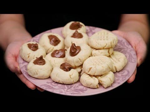 ¡las-galletas-más-fáciles-del-mundo!-solo-3-ingredientes-y-1-tenedor-para-decorarlas
