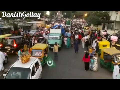 Drone View Of Milad Un Nabi Bangalore 2018