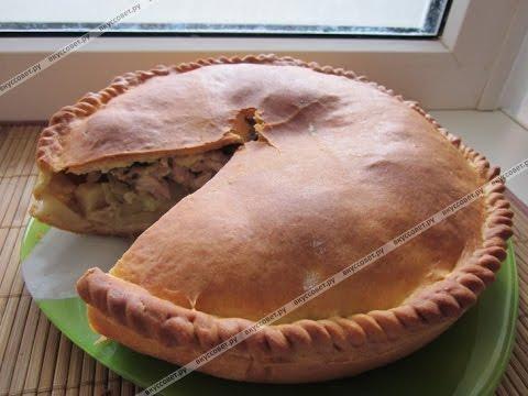 Как приготовить курник с курицей и картошкой пошаговый рецепт видео