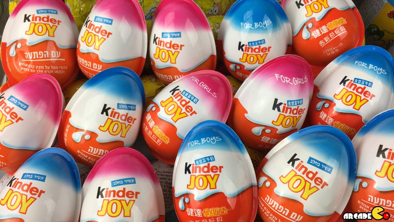 New Kinder Surprise Eggs Limited Edition For Girls Kinder Chocolate Surprise Eggs Youtube