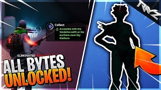What Happens When You UNLOCK ALL 100 Fortbytes..?! (Fortnite Fortbyte #21 & #38)