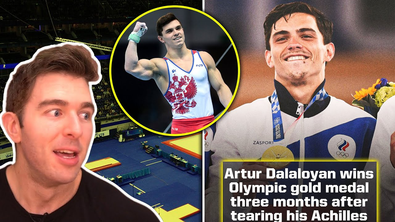 Russian Wins Gold At The Olympics 3 MONTHS After Tearing His Achilles… NATTY OR NOT?