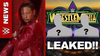 WrestleMania 34 Main Event LEAKED!! Nakamura Coming To RAW? - WWE News Ep. 102