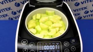 Рецепт приготовления кабачков на пару в мультиварке VITEK VT-4209 BW