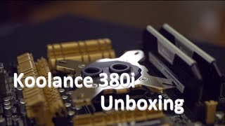 Koolance CPU-380I CPU Water Block Unboxing & Overview