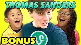 KIDS REACT TO THOMAS SANDERS VINES (Bonus #127)